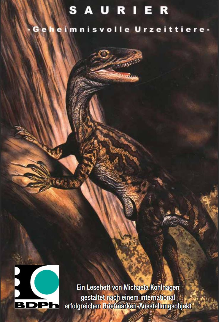 Cover of Leseheft Dinosaurier