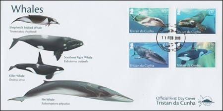 201902 Whales FDC